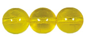 Druk Smooth Round Beads #4150 8MM Citrine (600 Pieces)